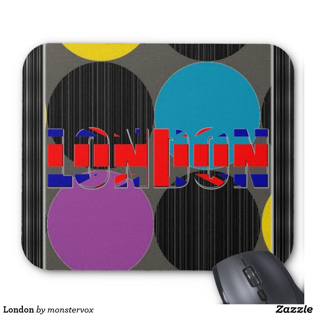London Mouse Pad London England Britain Unitedkingdom British English Fashion Computer Mousepad Mouse Pad London