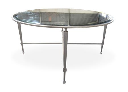Product   Products   Cleveland Coffee Table With A 5mm Bevelled Mirror Top    Leonardo Design