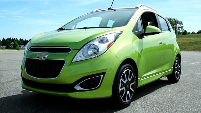 Chevy Spark Boasts Value High Mpg Handy Size And Style Chevrolet Spark