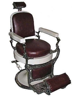 """i have a koken barber chair i bought at an estate sale it""""s"""