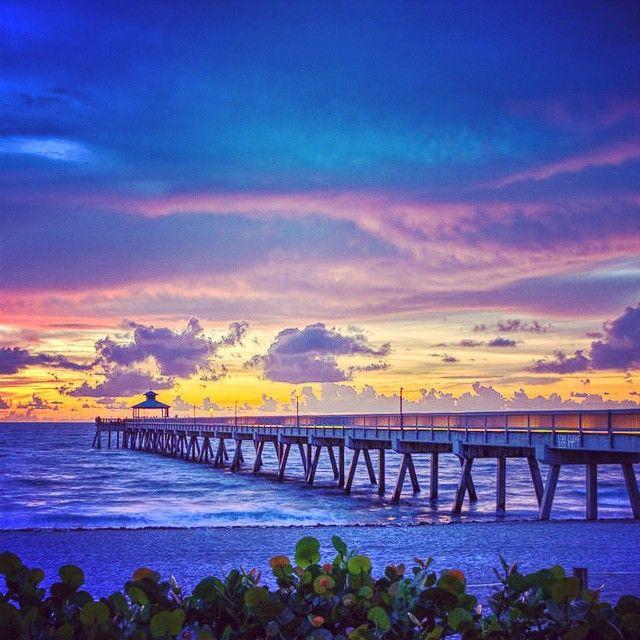 Deerfield Beach, FL. Home of the Royal Blues Hotel.