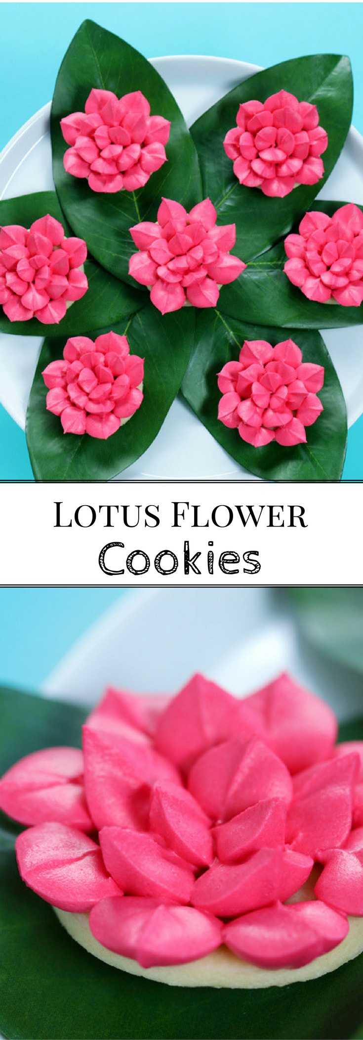 Vegan Percy Jackson Lotus Flower Cookies Geek Food Flower