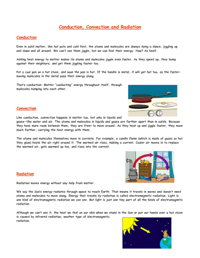 Conduction Convection Radiation | Back to school 2015 | Pinterest ...