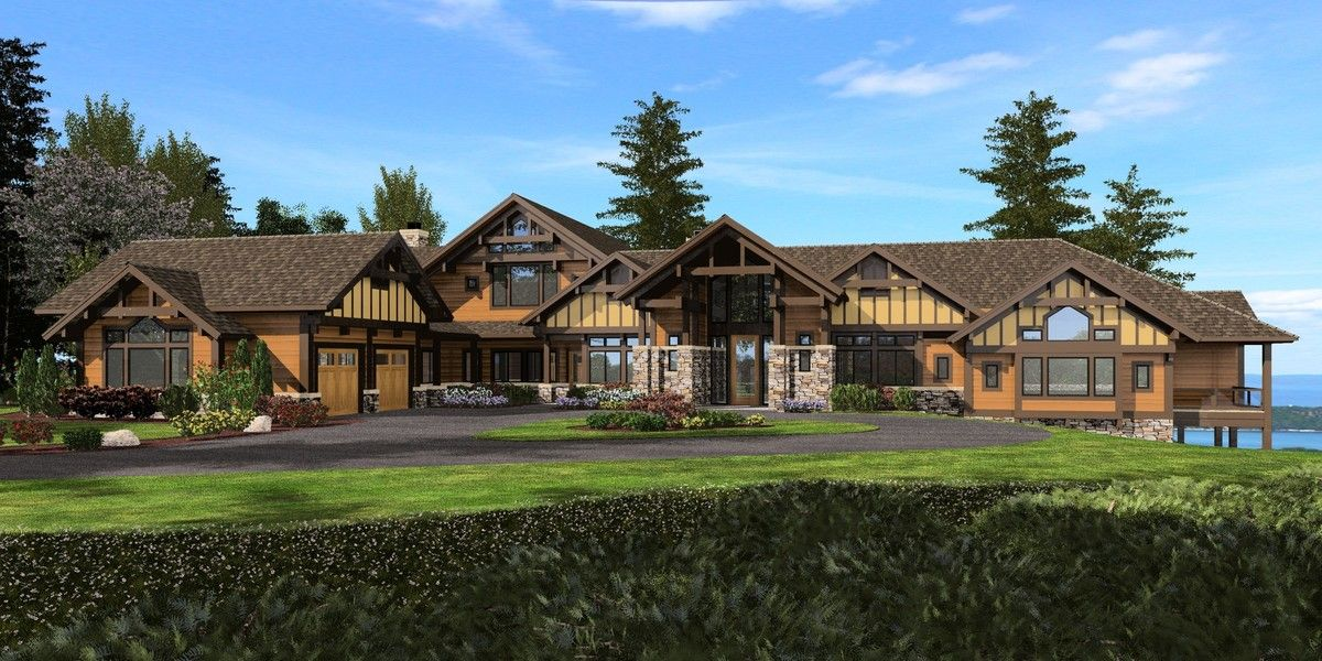 Plan 23471jd Mountain Craftsman House Plan With Sweeping Views Craftsman Style House Plans Craftsman House Craftsman House Plan