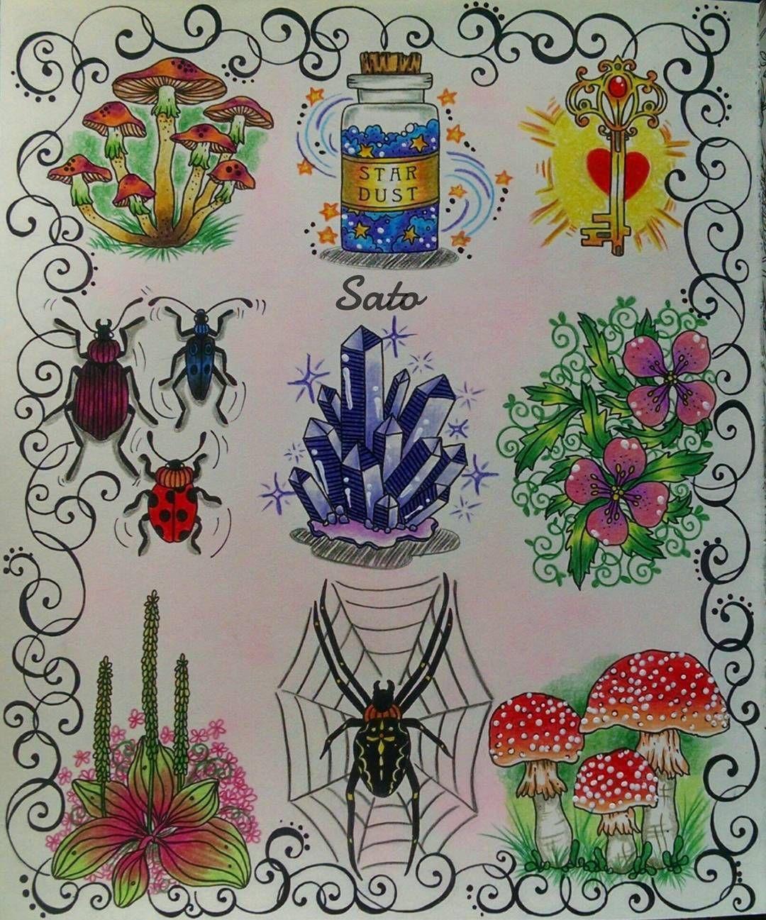 🍄🌌🔑🐞💎🌸🌺🍄 #hannakarlzon #daydreams #daydreamscoloringbook #dagdrommar #dagdrömmar #arte_e_colorir #desafioscoloridos #divasdasartes #artecomoterapia #colorindolivrostop #prazeremcolorir #mushrooms #arabesco #coloringbook #adultcoloring #beautiful #stardust #awesome #arttherapy #colortherapy #coloriage #artwork #art #instaart #instagood