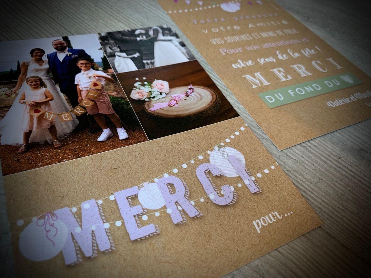 Texte remerciement mariage surprise