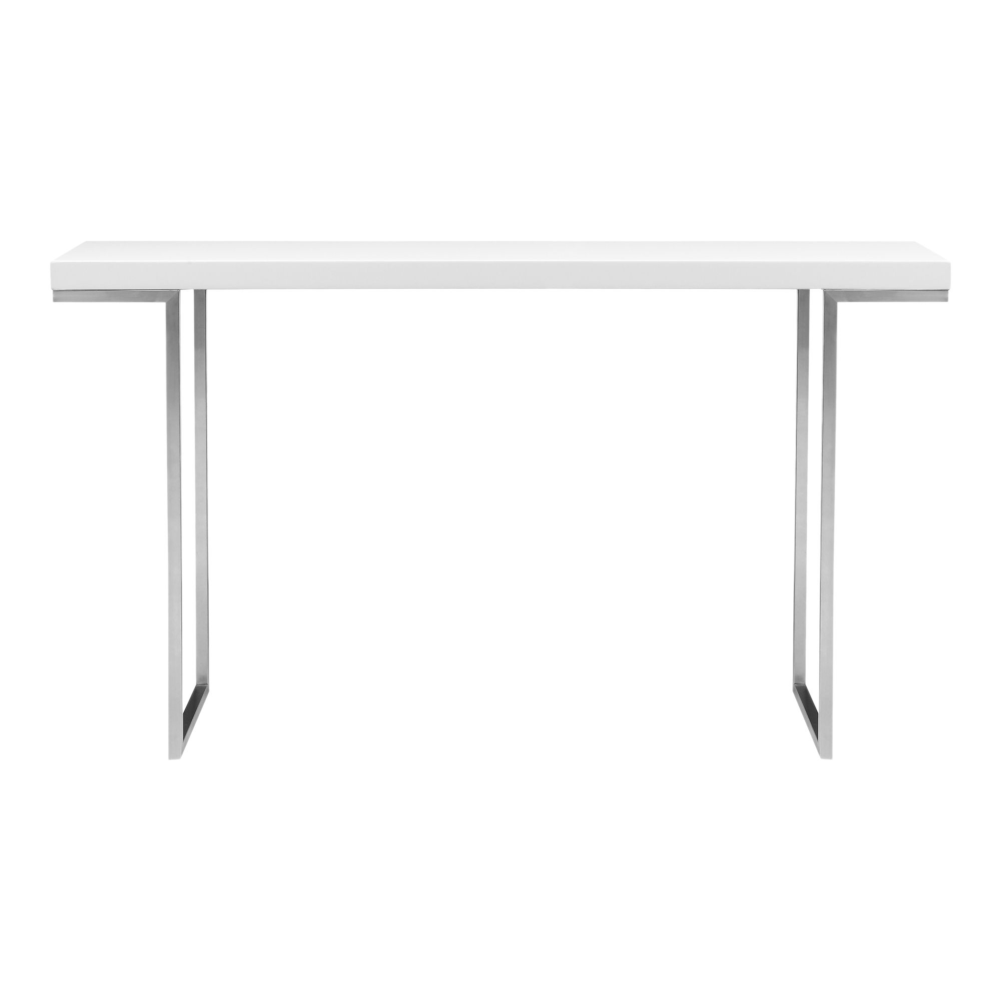 Repetir Console Table White Lacquer Moe S Wholesale Contemporary Console Table Small Console Tables Console Table