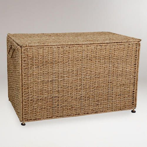 One Of My Favorite Discoveries At WorldMarket.com: Collapsible Seagrass  Trunk With Lid