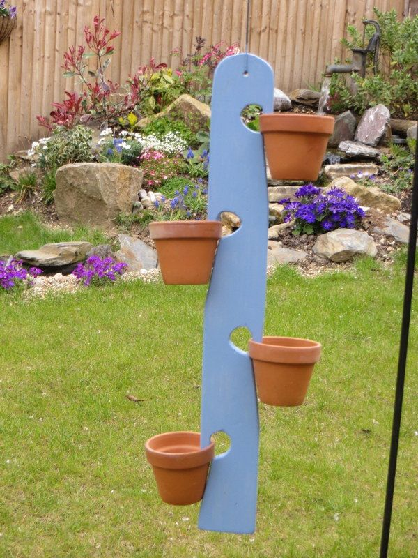 Wooden Multiple Hanging Plant Pot Holder By Thepottypothanger On