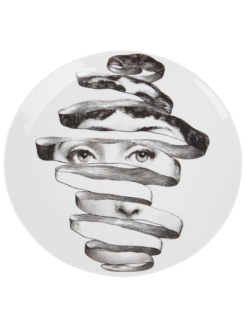 Photo of FORNASETTI plate