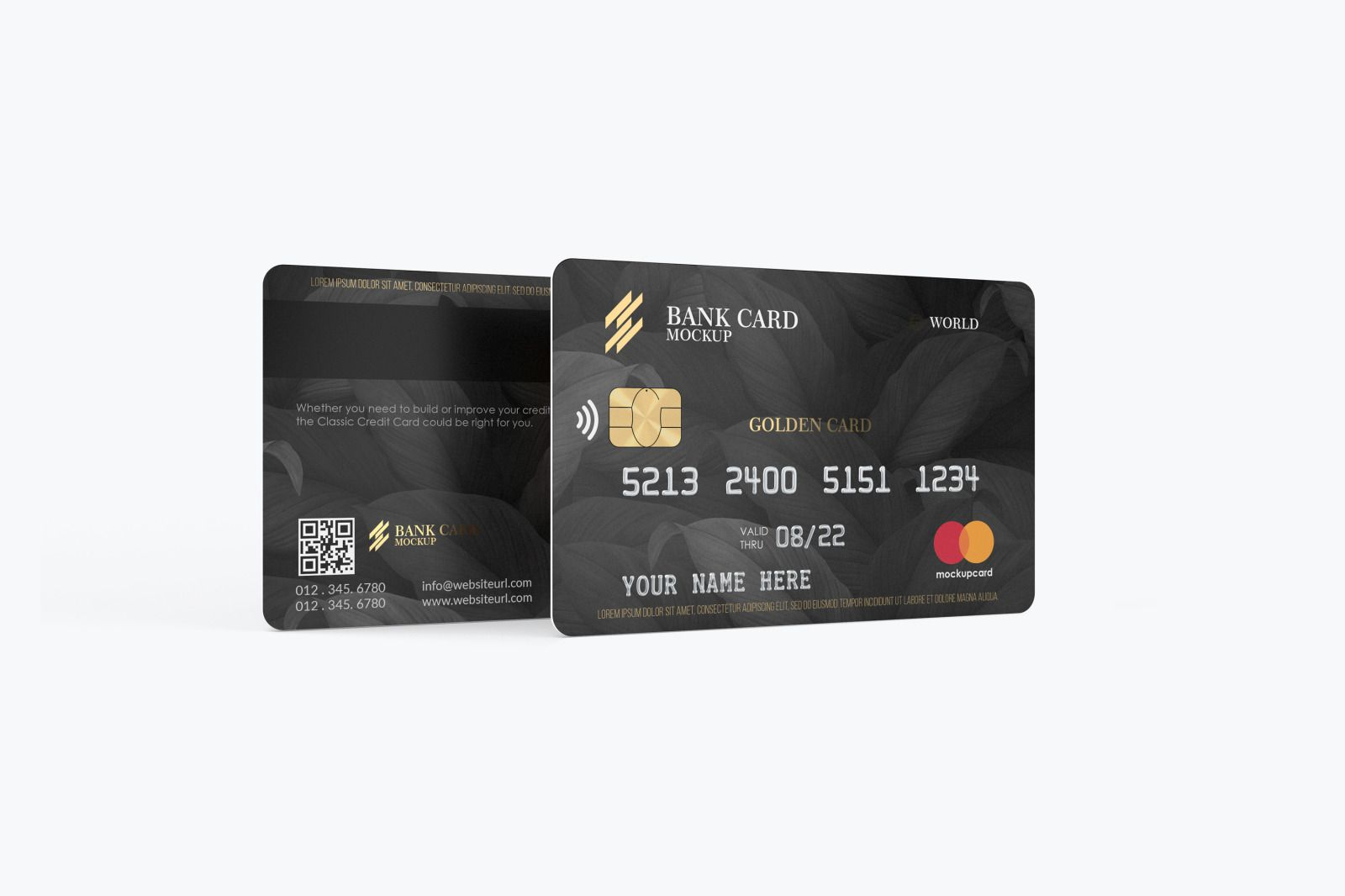 Plastic Card Mockup In Product Mockups On Yellow Images Creative Store Plastic Card Discount Card Card Design