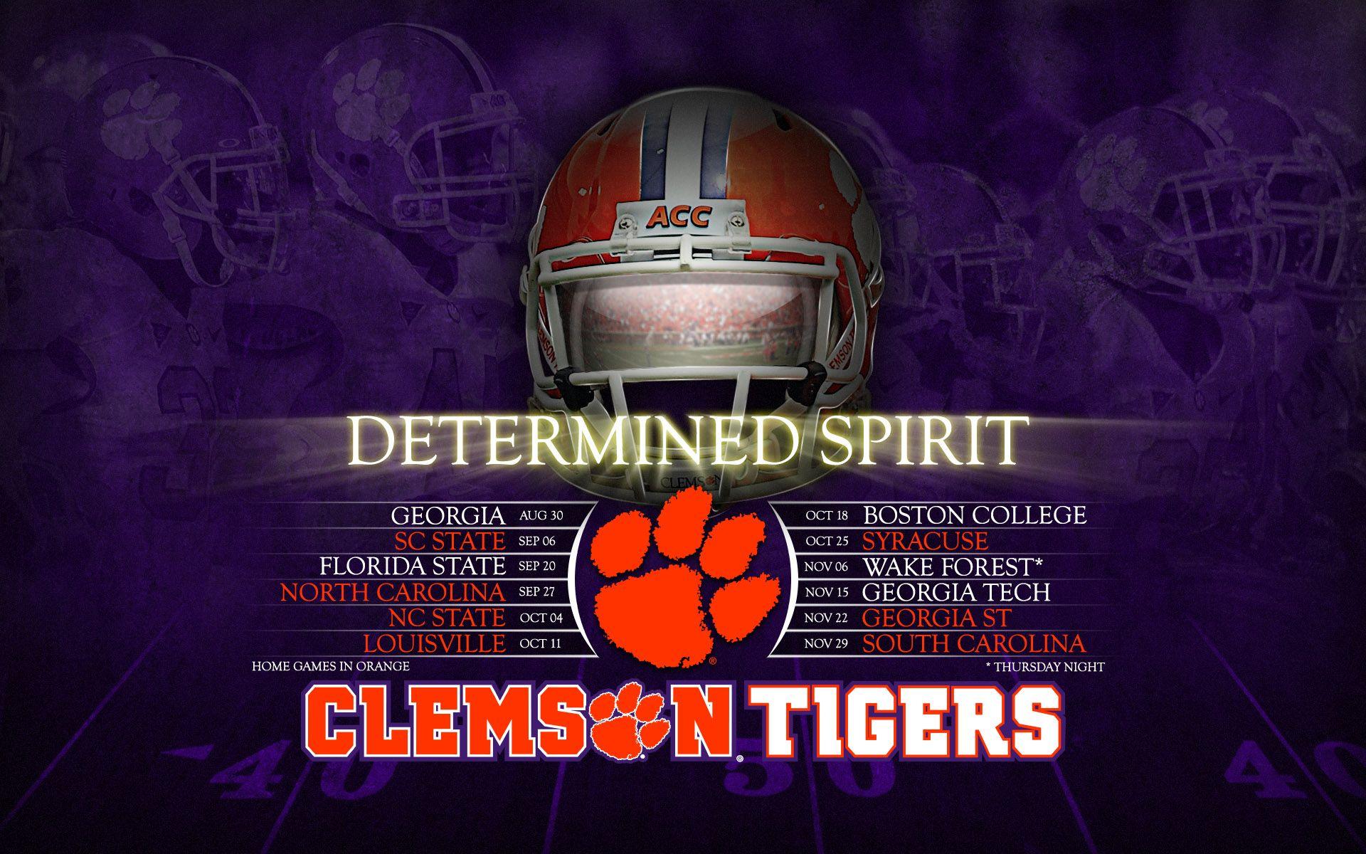 Clemson Tigers Football Schedule 2014 Clemson tigers