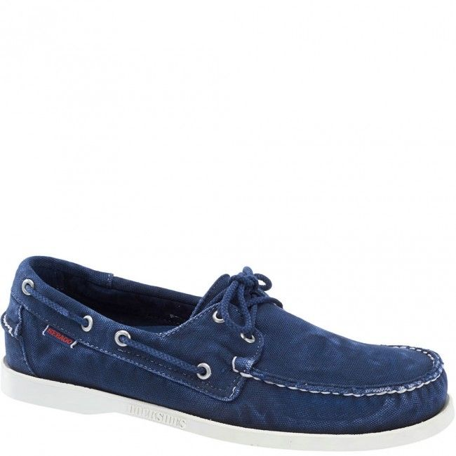 Docksides Canvas Casual Shoes - Navy
