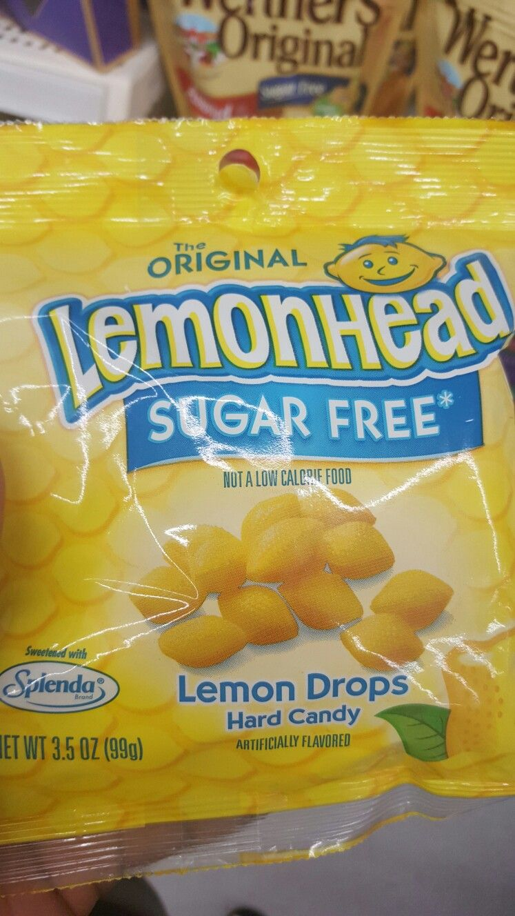 Bee Theme Lemonhead Candy