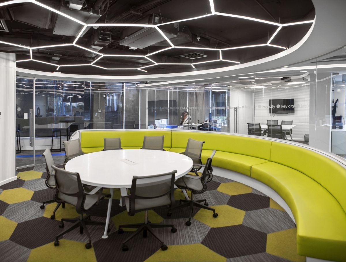 Adidas Offices Santiago 3 Commercial interior design
