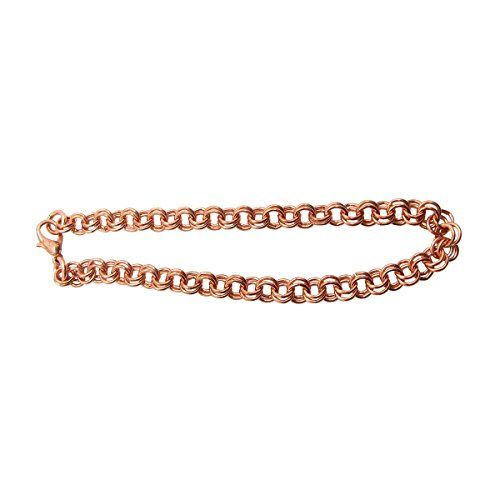 Ladies Solid Copper 7 1/2 Inch Bracelet CB656G - 3/16 of an inch wide -- You can get more details at http://www.amazon.com/gp/product/B00VJL2WLY/?tag=ilikeboutique09-20&lm=100816230124