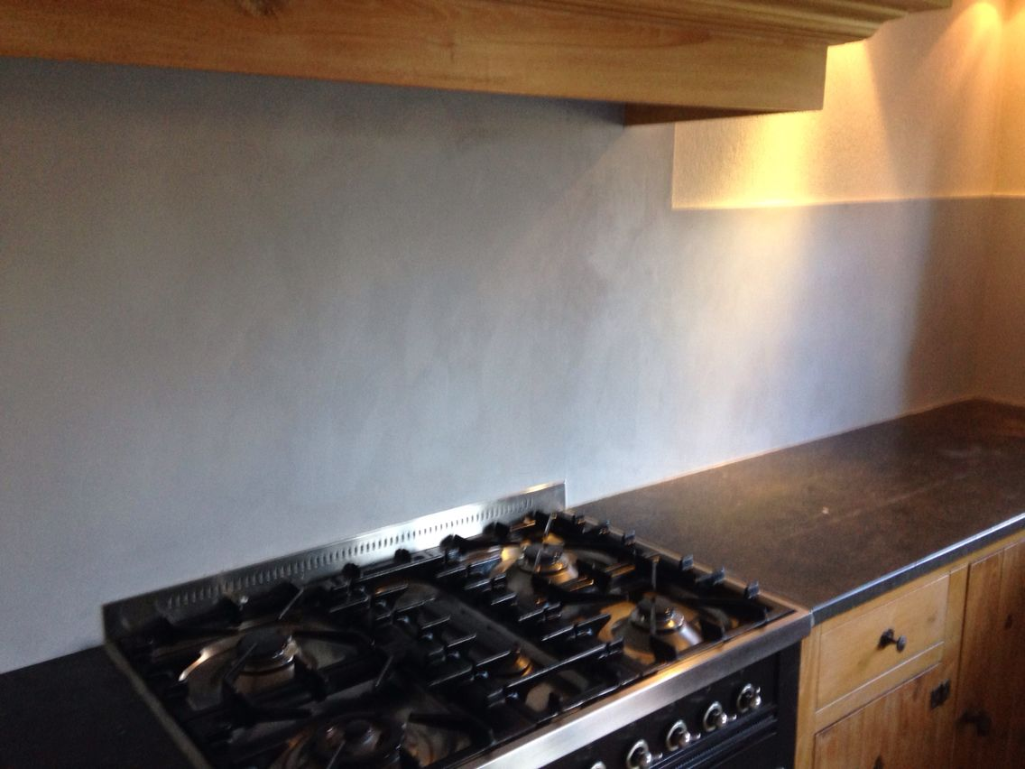 Beal mortex achterwand keuken stuc ydee mortex kitchen
