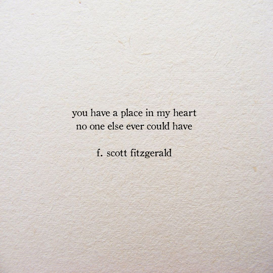 scott fitzgerald quote, love quote, quote about love ...