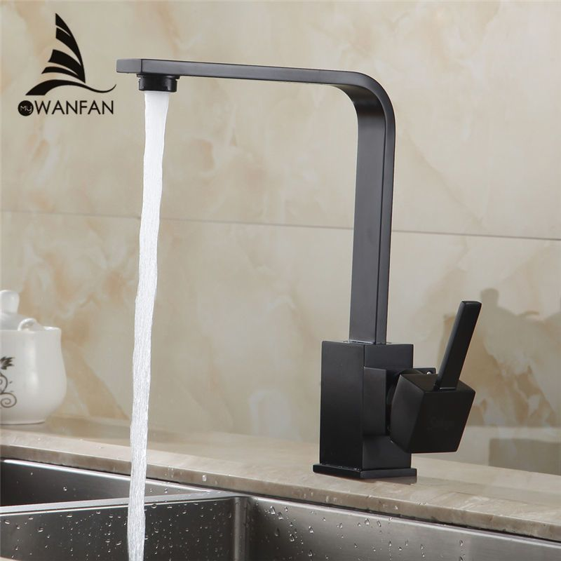 Free Shipping kitchen sink faucet 360 Rotate Brass Swivel Kitchen ...