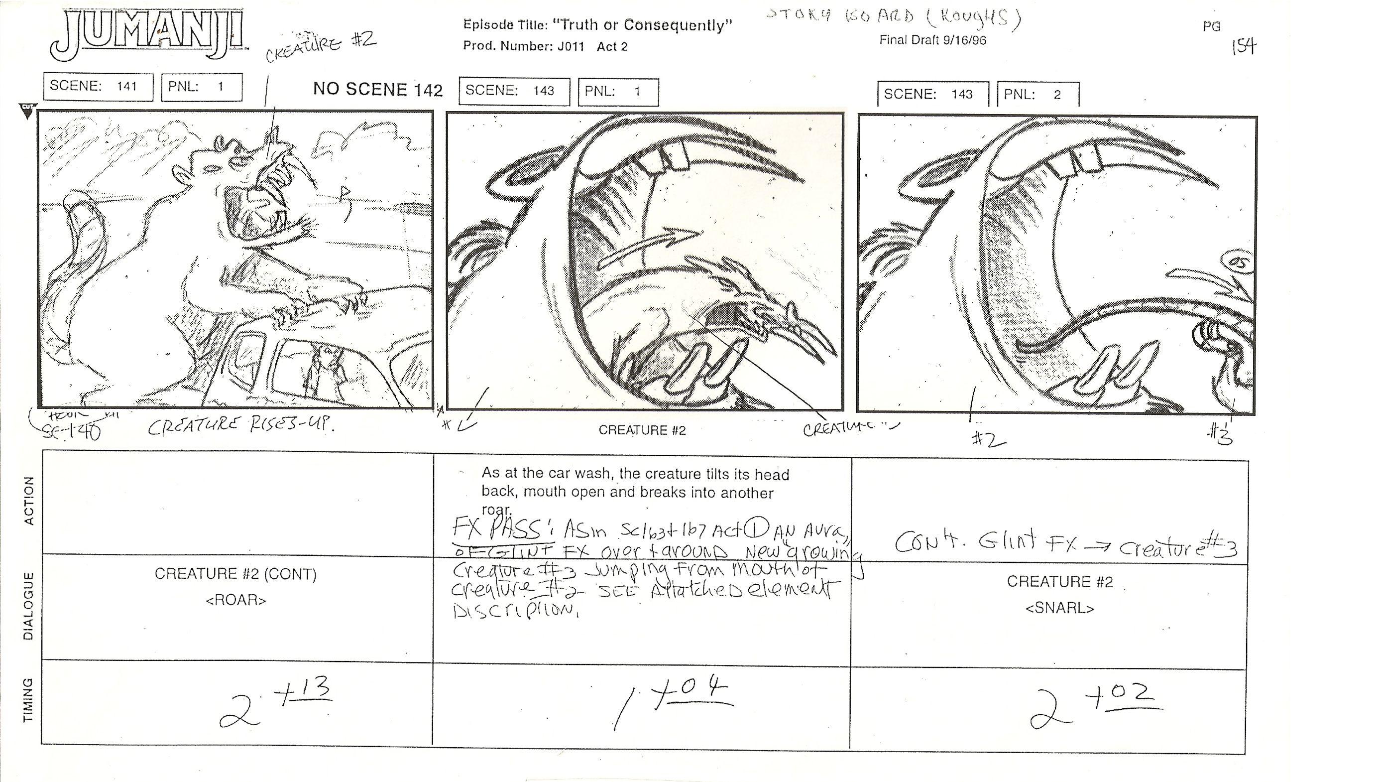 Jumanji Page 1 | storyboards | Pinterest