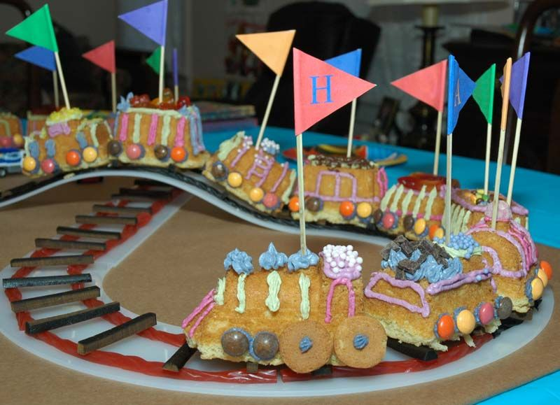 Train cake with licorice \ tootsie roll track Train Birthday - rückwände für küchen aus glas