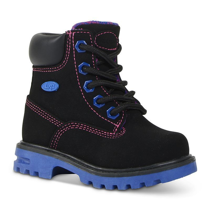 Lugz Empire Hi Toddlers' Water-Resistant Boots, Kids Unisex, Size: 12, Black