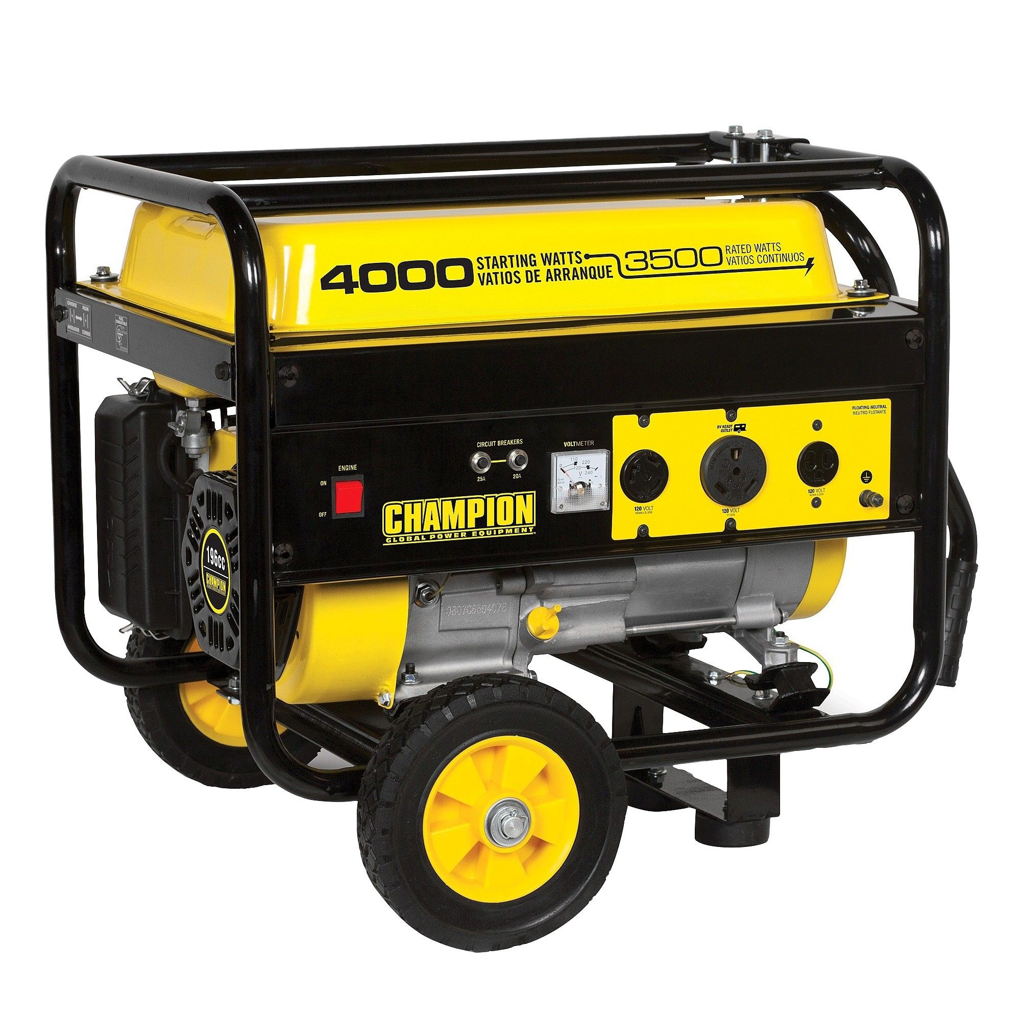 3500W 4000W Generator 196cc Champion Power