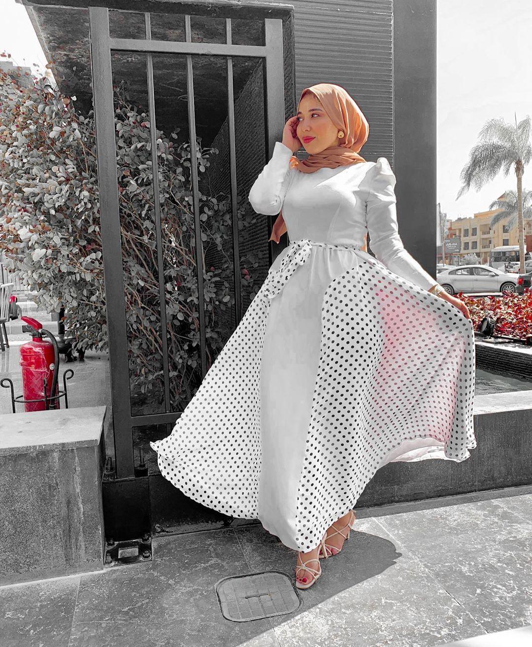 موديلات فساتين للمحجبات للخروج 2021 Fashion Victorian Dress Dresses