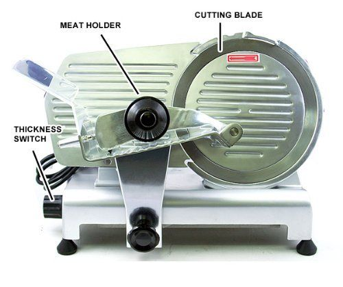 New Mtn Gearsmith Commercial Heavy Duty 12 Electric Meat Deli Slicer By Mtn Gearsmith 459 95 Material Du Meat Slicers Commercial Meat Slicer Deli Slicers
