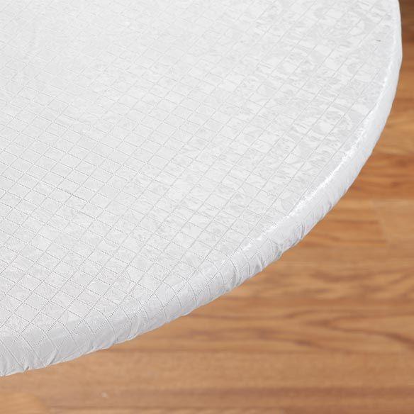 Elasticized Table Pad Vinyl Table Pads Miles Kimball Table Pads Table Pad Protector Cloth Pads