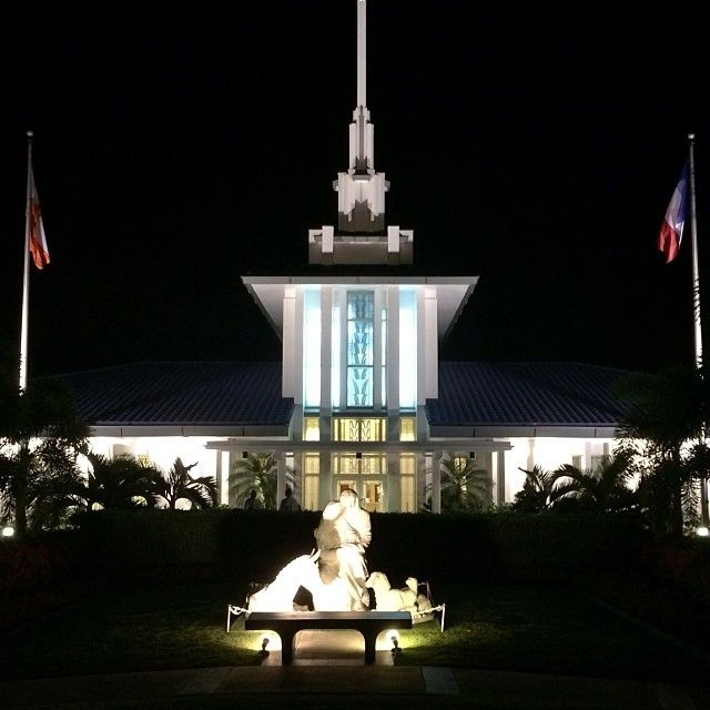"""Papeete, Tahiti, LDS temple  - MormonFavorites.com  """"I cannot believe how many LDS resources I found... It's about time someone thought of this!""""   - MormonFavorites.com"""