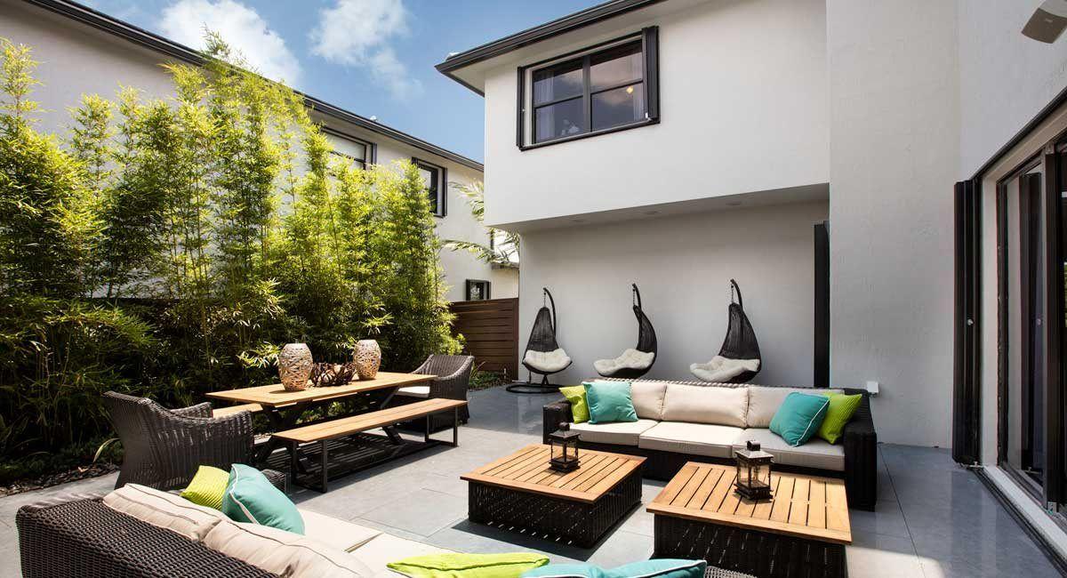 Lennar Miami Florida Serenity - Backyard furniture - fence | Mid ...
