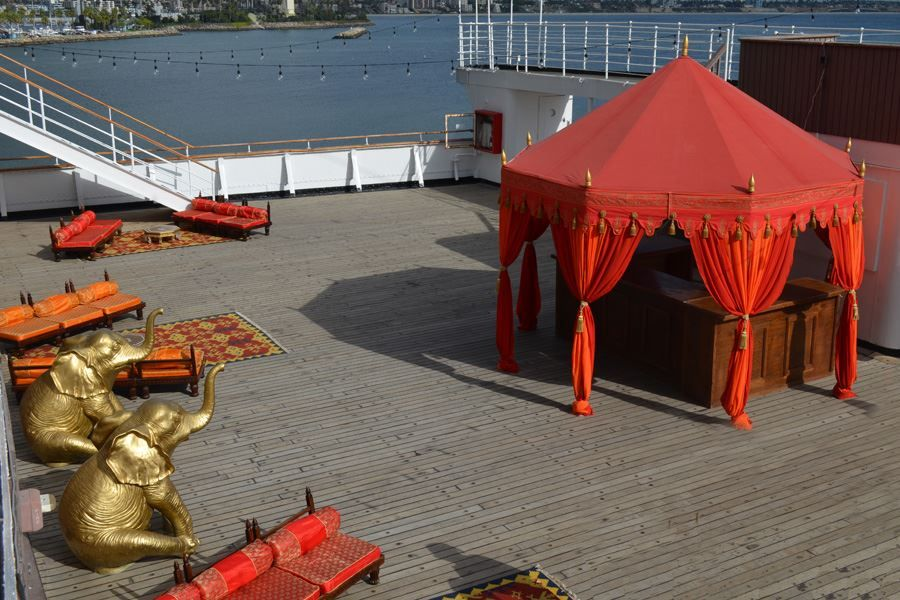 Need Somewhere Cool To Park Your Bar Try A Pavilion Tent The Octagonal Pavilion Comes In Two Sizes And Lots Of Colors And Styles Tent Pavilion Luxury Tents