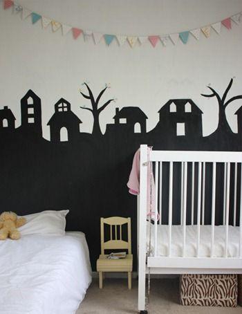 PINTURA DE PIZARRA.........decorar habitacion.