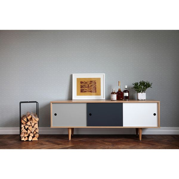 Skandinavisches Sideboard tv lowboard sideboard skandinavisches design design tv ständer aus
