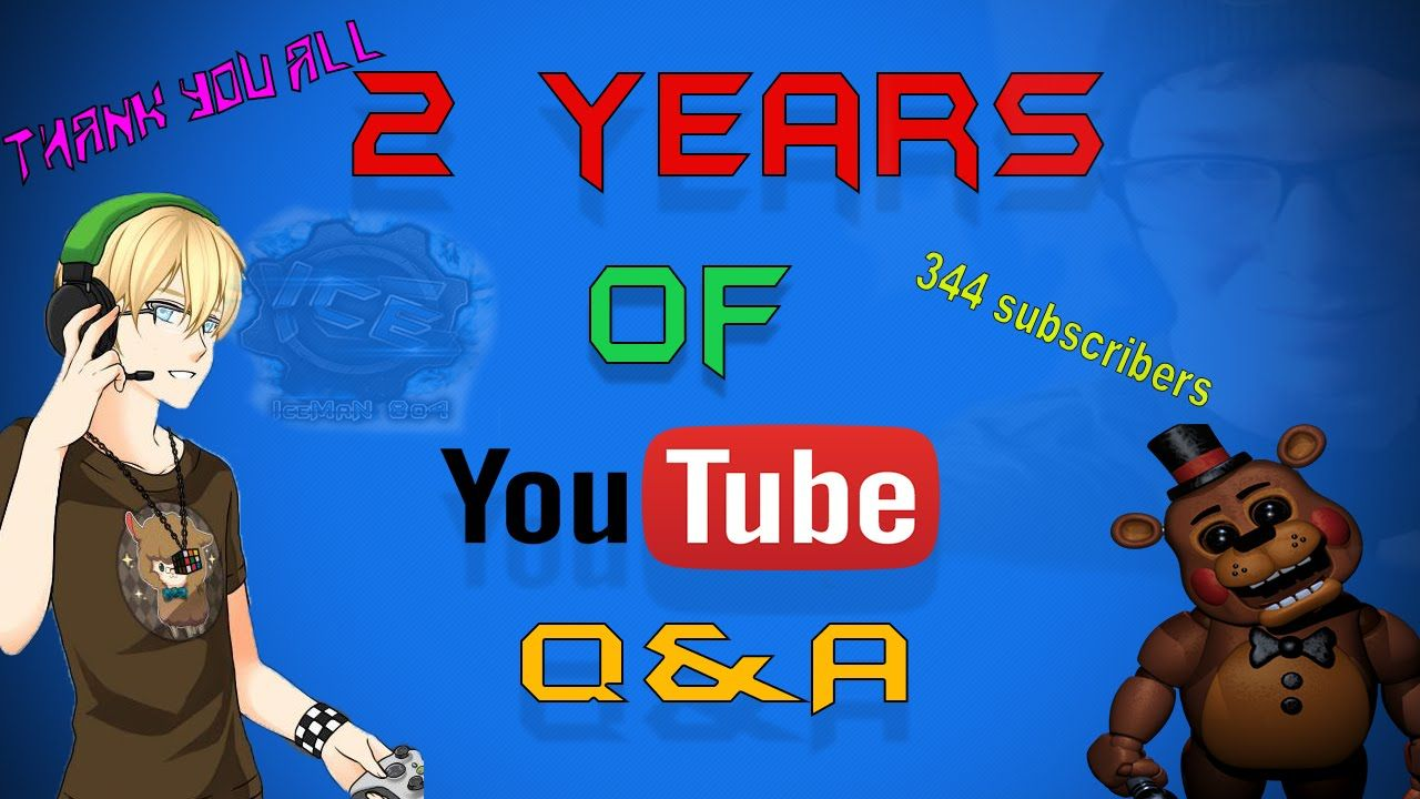 2 Years of YouTube Q&A Part 3 Who is my Best Internet Friend?