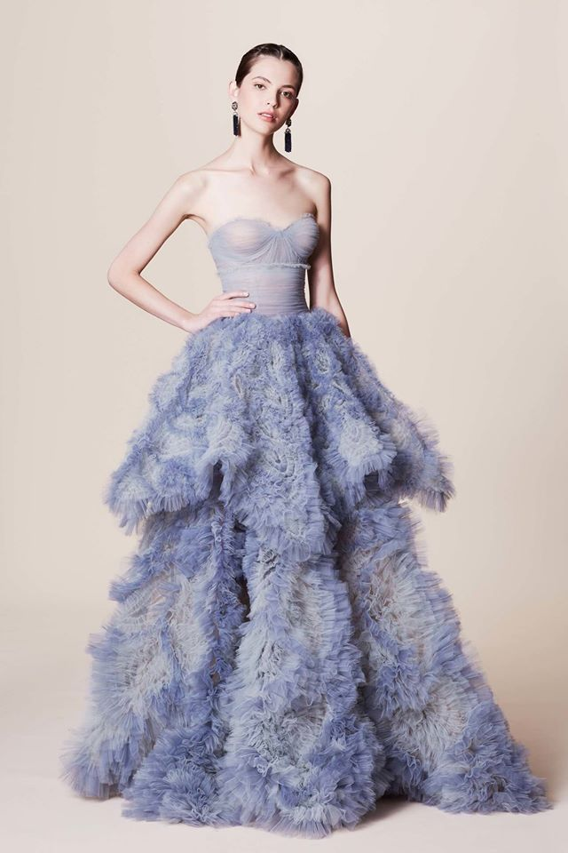 adea623572 Pin by Marge Allik on Fashion | Fashion, Dresses, Marchesa gowns