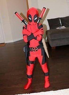 Kid Deadpool Costume Google Search Disfraces Pinocho Disfraces Para Niños Disfraz Deadpool