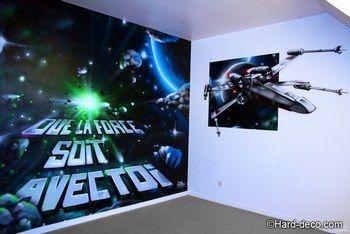 Decoration Graffiti Chambre Star Wars Chambre Star Wars Salle