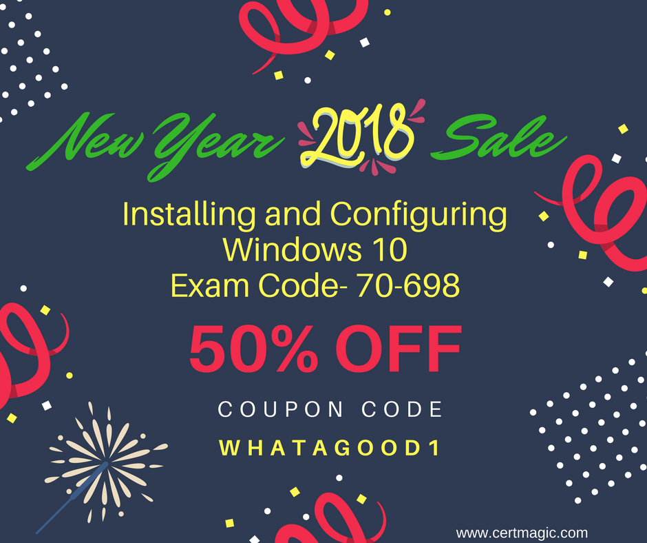 Learn how to installing configuring windows and their updated take updated study and practice material for installing and configuring windows 10 exam 70 698 from here fandeluxe Gallery