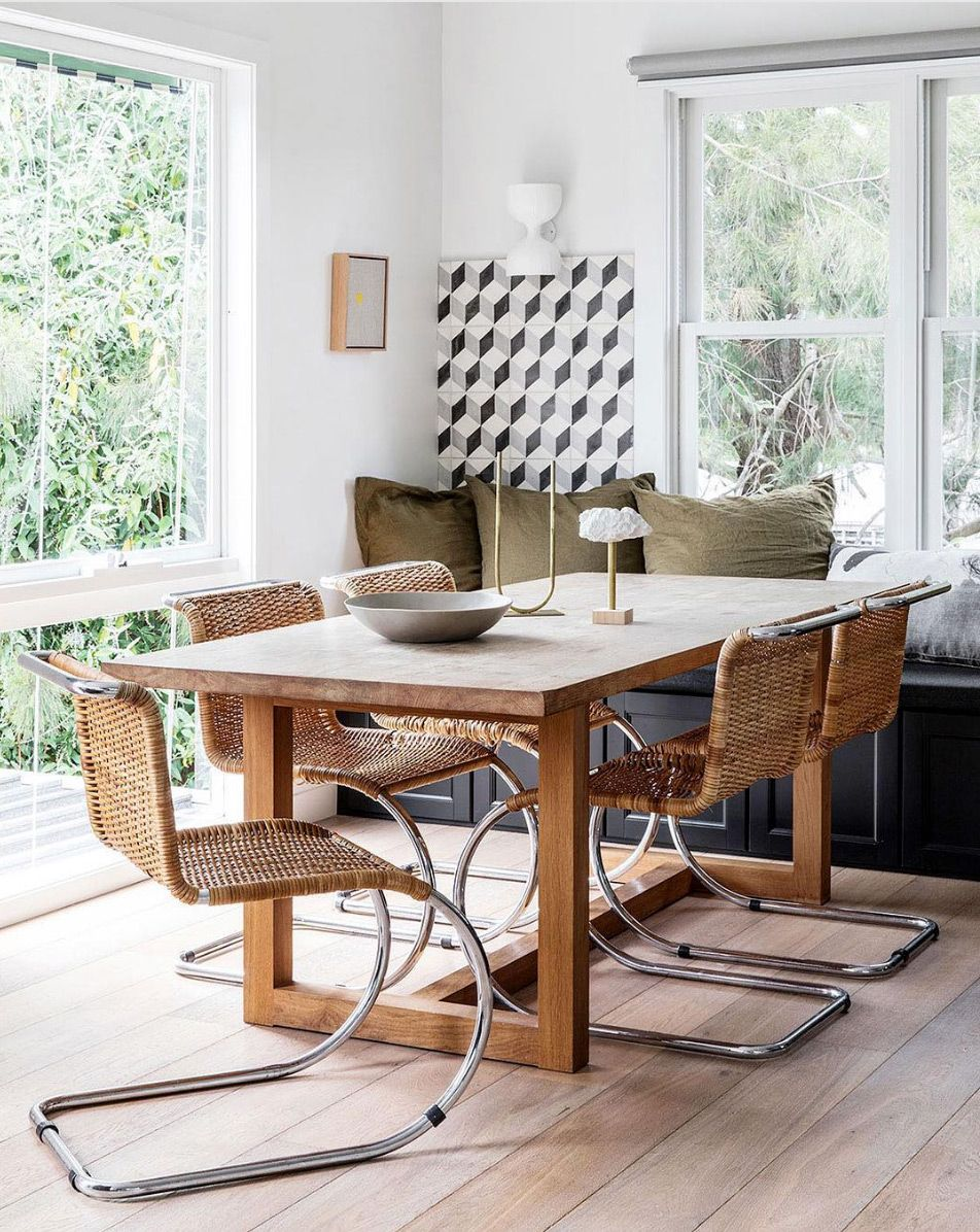 Eclectic Dining Style Eclectic Dining Beach House Interior