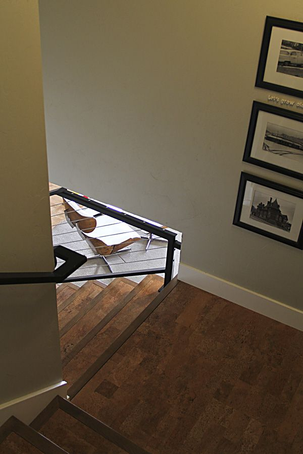 Cork Flooring On The Stairs! Montana Prairie Tales   Montana Prairie Tales  Blog