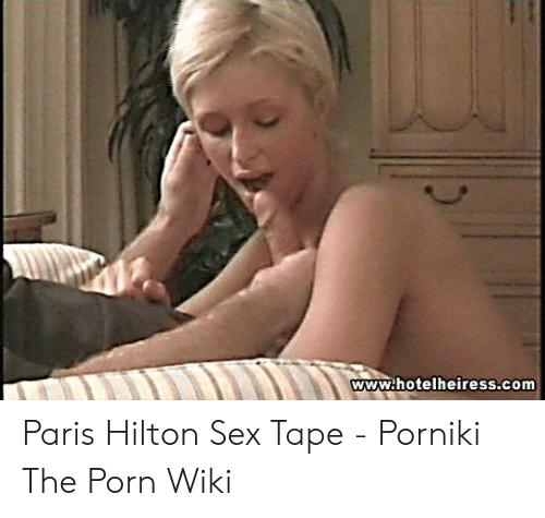 pareis hiton sex tape