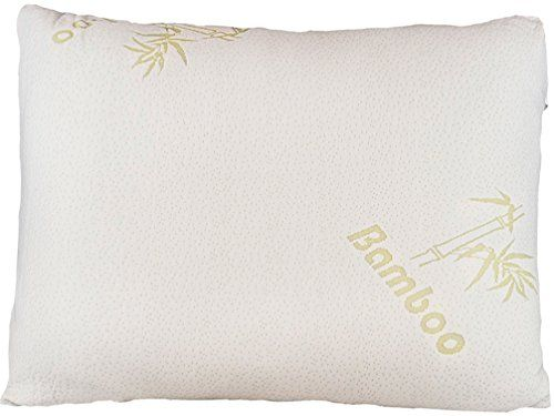 Home Comfort Memory Foam Bamboo Pillow 12 By 16 Inch Want
