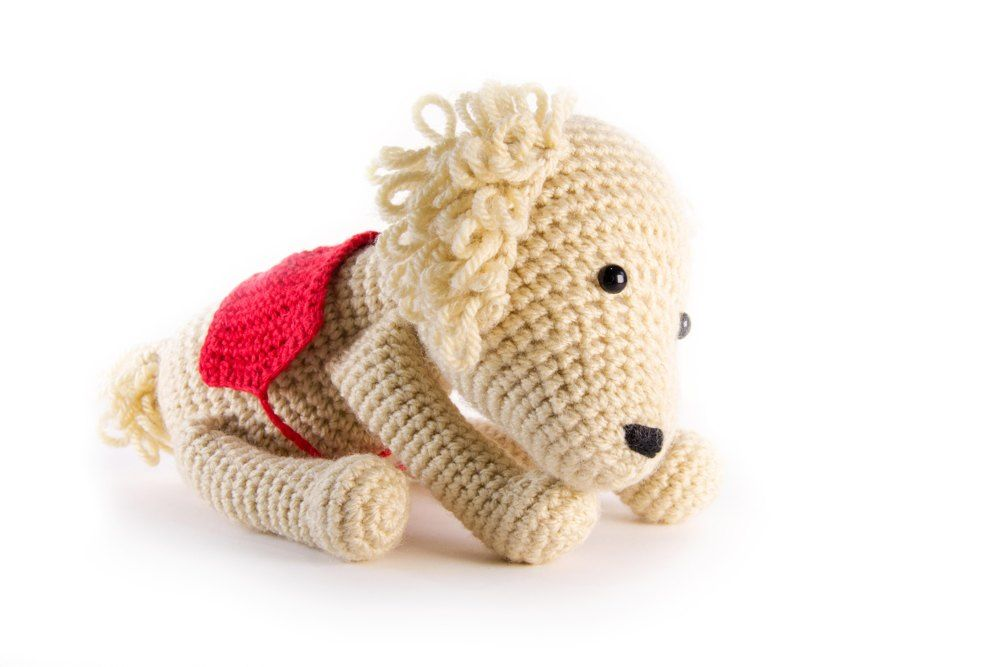 Oliver The Dog For Battersea Dog Cat Crochet Blankets And