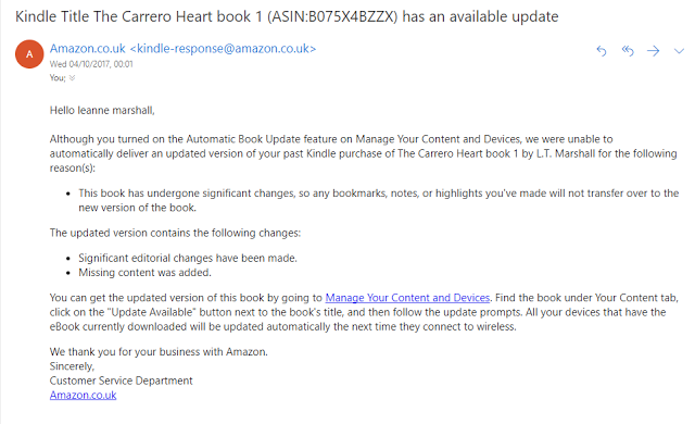L T Marshall Author Carrero Heart Updates Download Please
