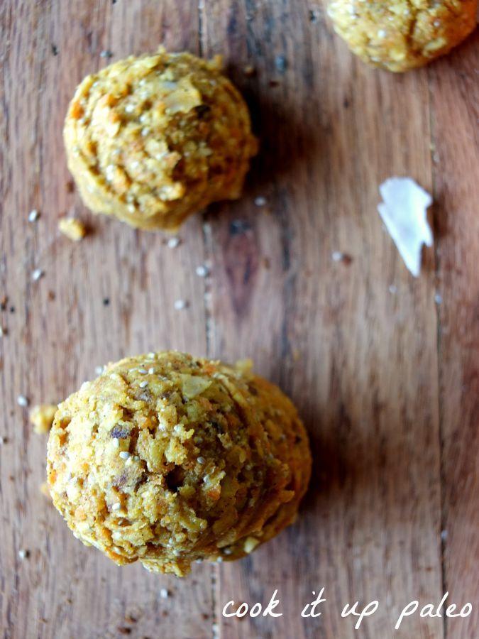 Paleo No-Bake Carrot Cake Cookies - nut free, vegan, no bake, 5 - prep cook