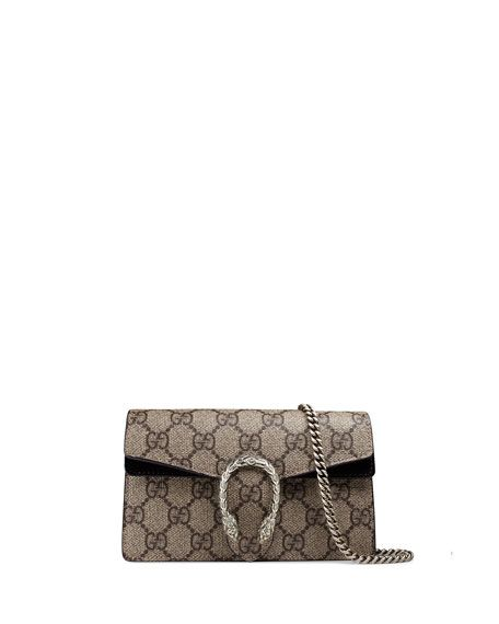 GUCCI Dionysus Gg Supreme Super Mini Bag 3ff73fd8879b
