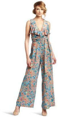 319eec9ab76b ShopStyle: Tracy Reese Women's Palazzo Jumpsuit Pant | WOMAN JUMPSUITS
