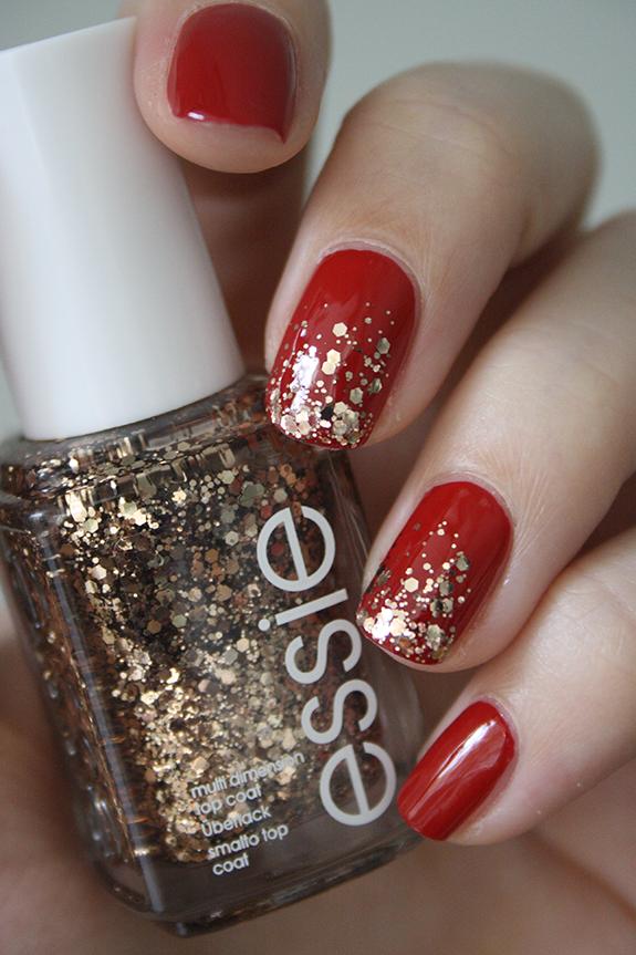 Ongles de fête avec Essie | Nails | Pinterest | Ongles, Makeup and ...